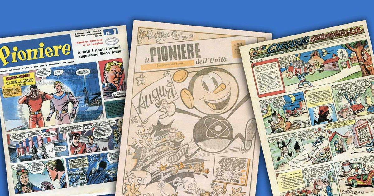 Il Pioniere e il Partito: Gianni Rodari a fumetti
